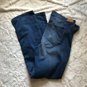 NWT Express Barely Boot Mid Rise Jeans Size 18L